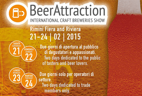 Beer Attraction 2015 - International craft breweries show