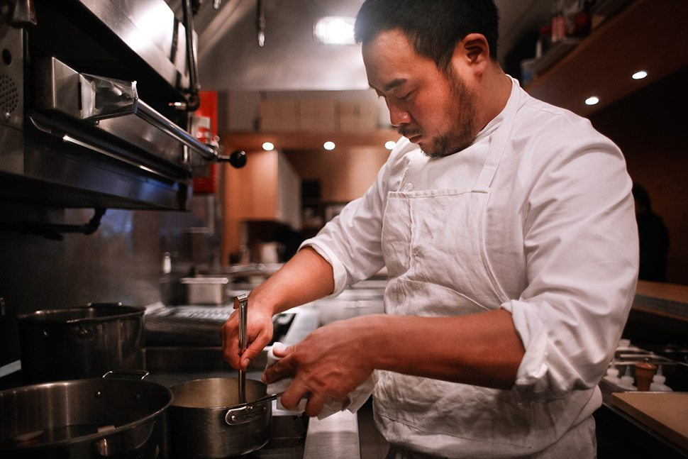 2 David Chang in Ko Kitchen - please credit Gabriele Stabile