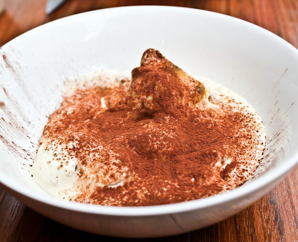 Tiramisu, Fruit de la passion