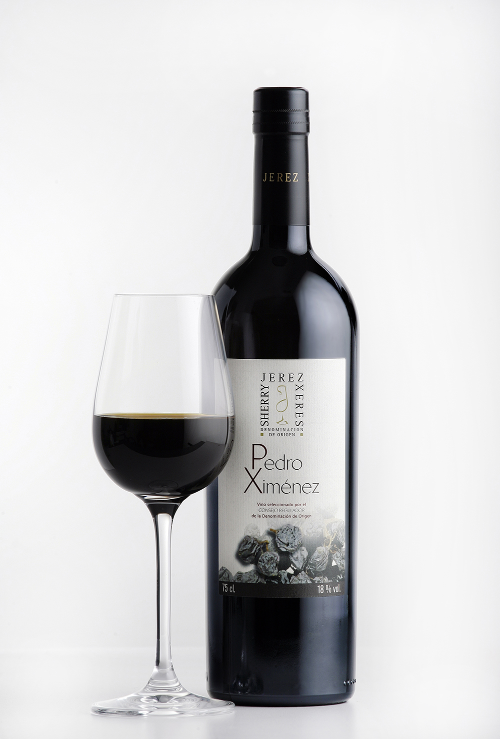 vinos jerez  sherry wines px botella