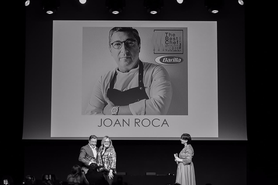 the best chef awards Joan Roca