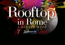 rooftoop in rome cene evento