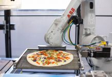 pizza robot startup